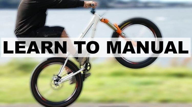 A Determined Man Quickly Learns How to Manual on a Mountain Bike for 165 Feet