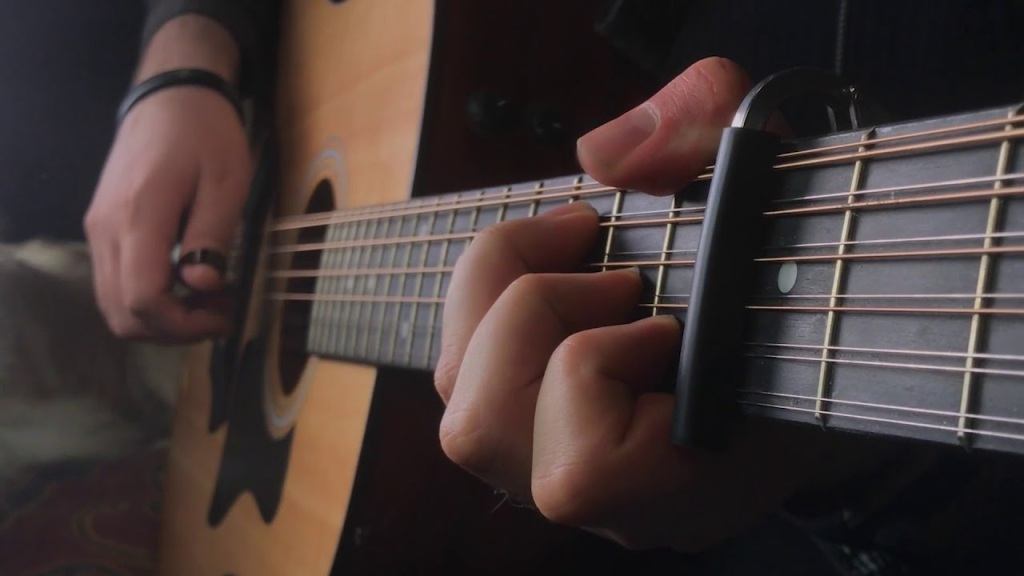 A Gorgeous Rendition of the Game of Thrones Theme Played on an Acoustic 12-String Guitar