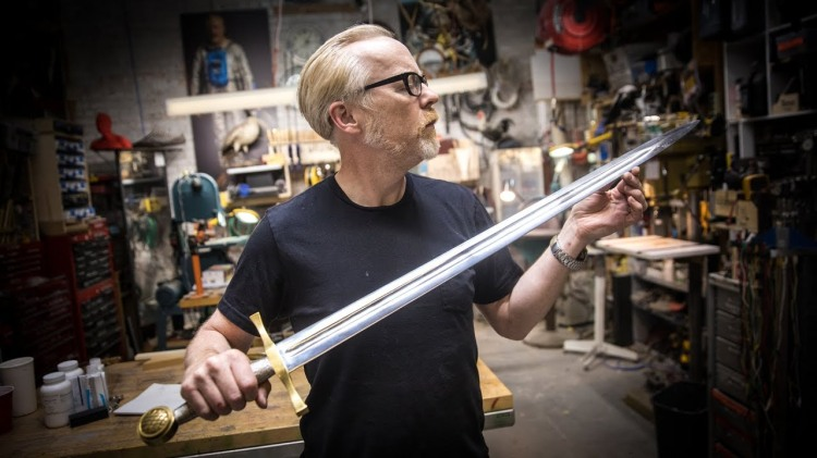 Adam Savage Builds King Arthur's Legendary Sword From the 1981 Film 'Excalibur'