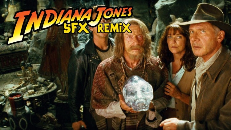 An Adventurous Remix of Sound Effects From Indiana Jones Films by Eclectic Method