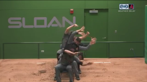 Arizona Diamondbacks and Chicago Cubs Engage in Hilarious Bullpen Battle During Rain Delay