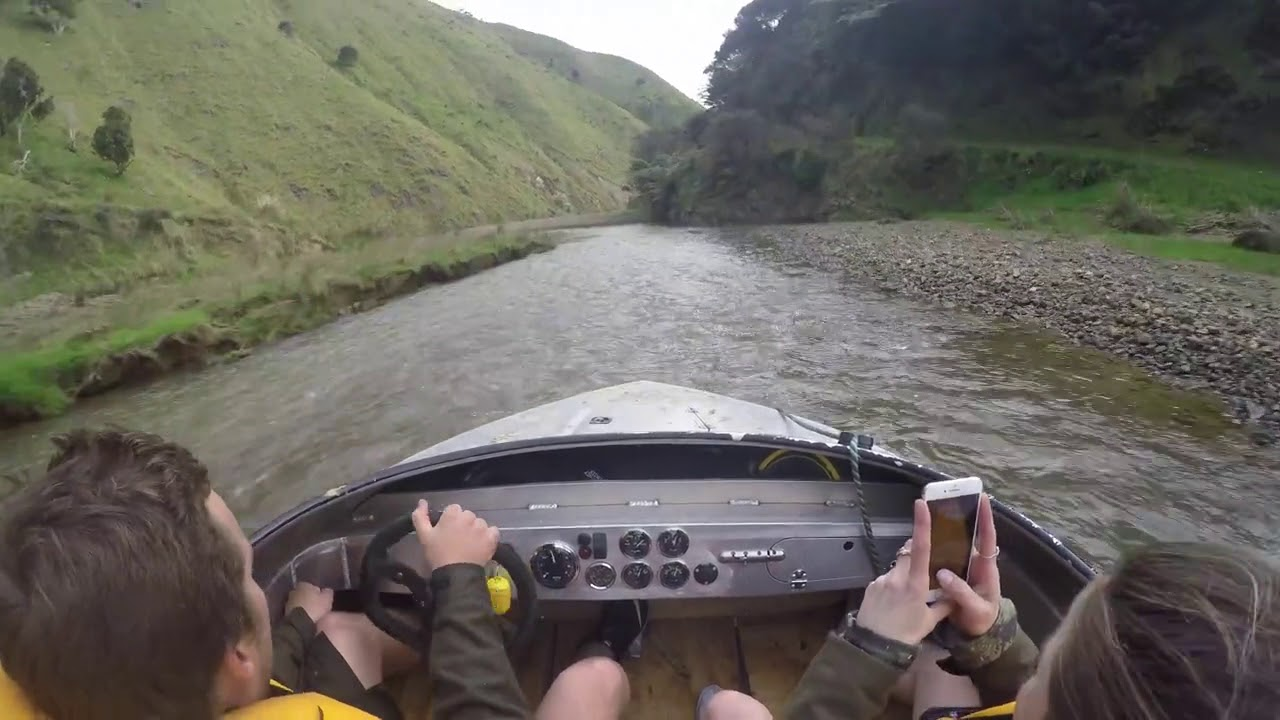 Boating Through Shallow Waters at High Speeds
