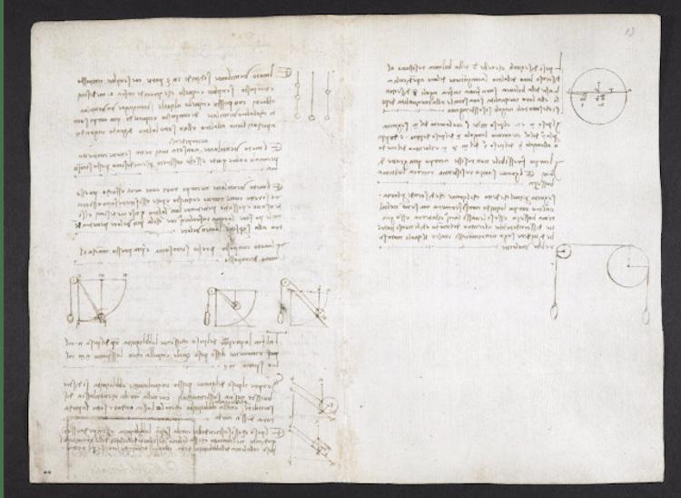Codex Arundel Page