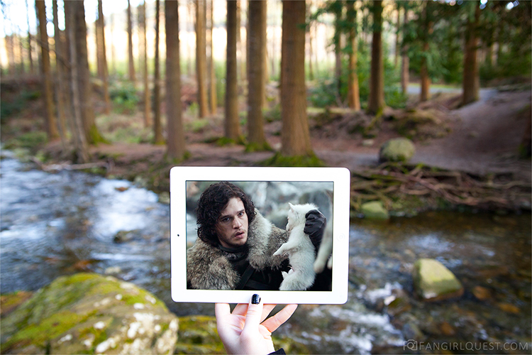 Game of Thrones Scenes Matched Up With Photos of Their Real World Location