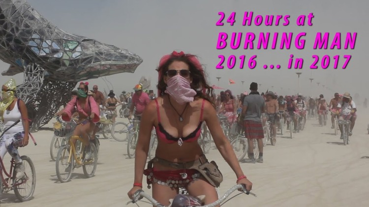 Captivating Footage That Gives a Look Inside 24 Hours of Burning Man 2016