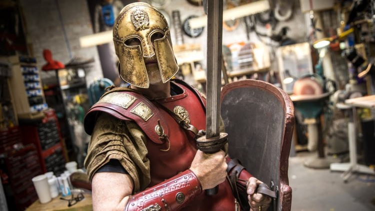 Adam Savage Unveils His New Set of Thracian Warrior Armor
