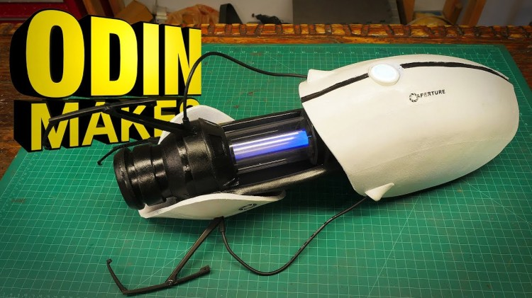 How to Make a Portal Gun From the 'Portal' Video Game Series
