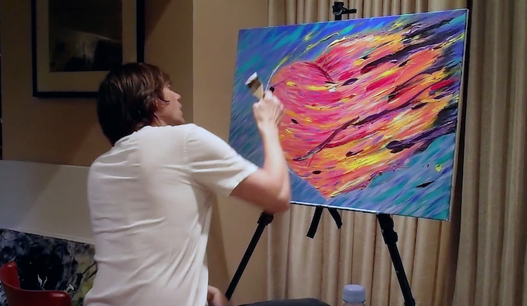 Jim Carrey Painting Documentary I Needed Color