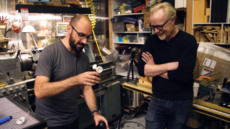 Adam Savage And Vsauce Host Michael Stevens Build A Kendama Japanese