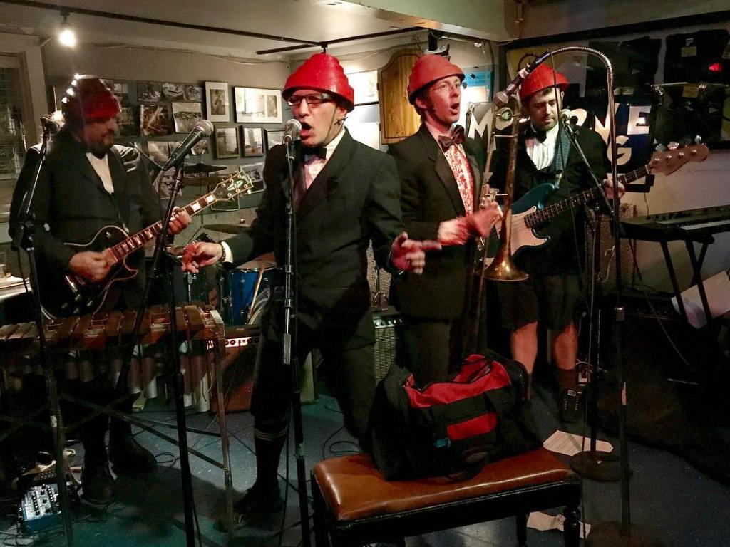 Devo Lounge Band Mongolounge Performing 'Uncontrollable Urge' in San Francisco