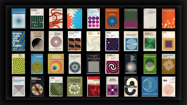 More Covers, A Short Film That Animates the Geometric Cover Art of Vintage Books