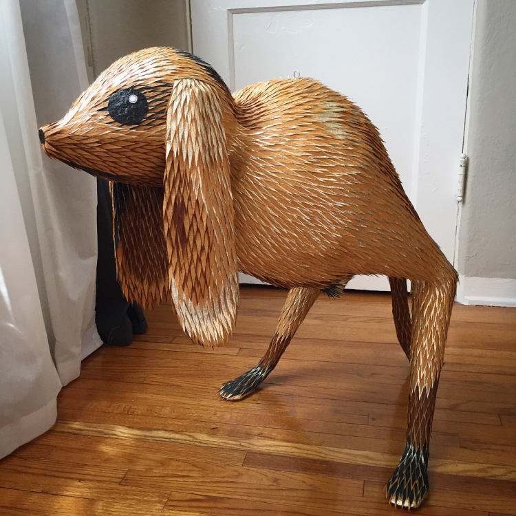 The Wondrous Creatures of Hieronymus Bosch Turned Into Highly Detailed Handmade Piñatas