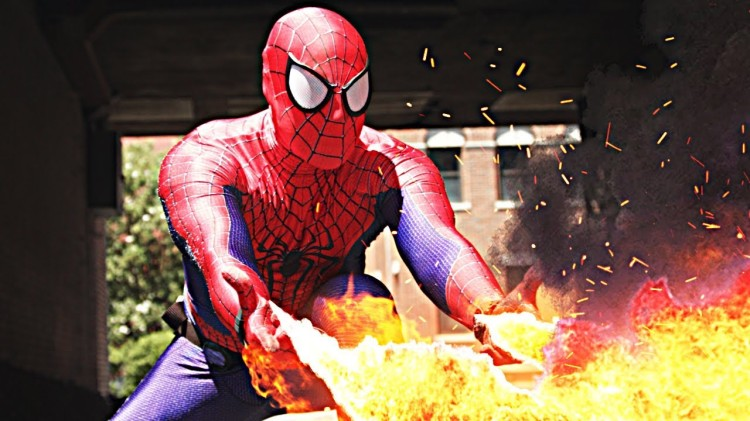 Spider-Man Battles Enemies With His New Web Mods in a 'Cheesy' Special Effects Video