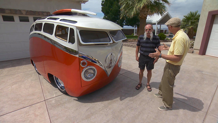 Surf Seeker Custom VW Bus