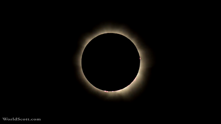 Stunning Timelapse of a Total Solar Eclipse in 2012