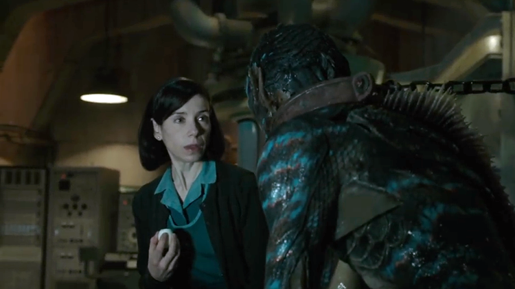 A Mute Woman and a Merman Creature's Love Story Unfolds in New Trailer for The Shape of Water