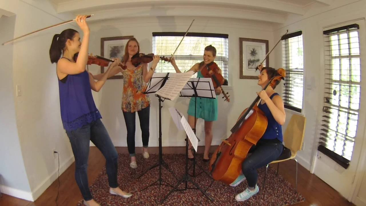 All Female String Quartet Rocks Out Brilliant Covers of Classic Rock