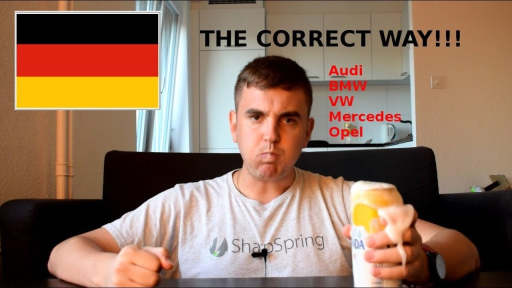 An Angry German Man Humorlessly Explains How To Properly