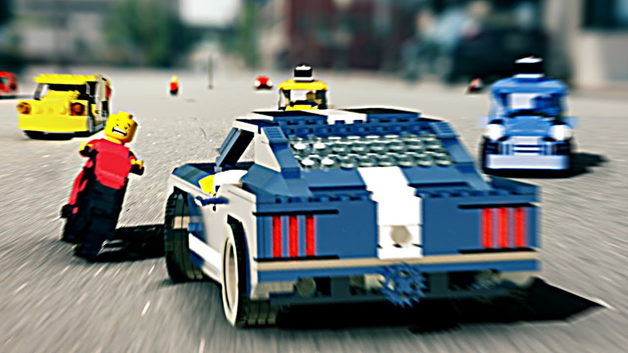 An Action Packed LEGO Grand Theft Auto Animation