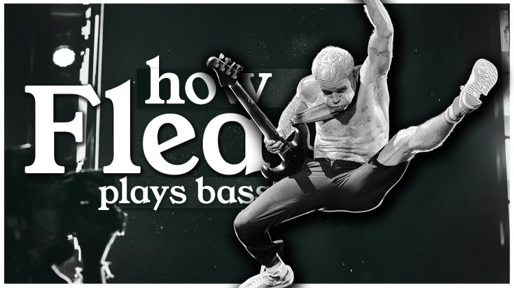 An In Depth Look at the Brilliantly Distinctive Way That Flea of the Red Hot Chili Peppers Plays Bass