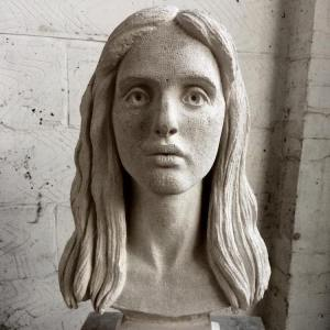 Anna Rubicam Stone Portrait