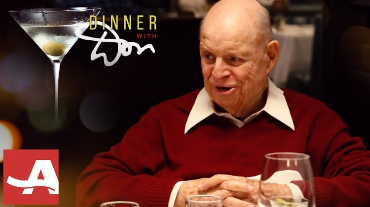 Dinner With Don, An AARP Original Series Featuring Don Rickles Breaking Bread With Other Celebrities