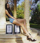 Ekaterina Lisina Longest Legs Tallest Model