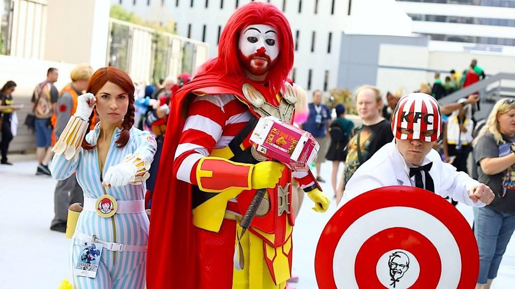 Fast Food Cosplays