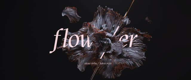 flow/er, A Gorgeous Short Film of Animated Flowers Exploding Into Fiercely Blooming Life