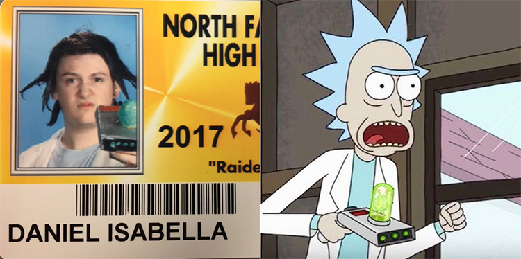 High School Allows Seniors To Wear Awesome Pop Culture Costumes For Their School ID Photos