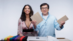 Jackie Chan and Olivia Munn Answer Martial Arts Questions Asked by People on Twitter