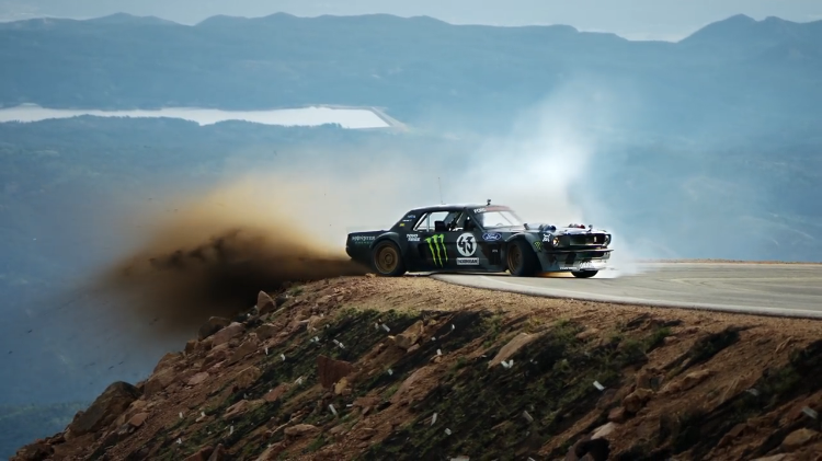 Ken Block And His 1 400hp Ford Mustang Hoonicorn Take On