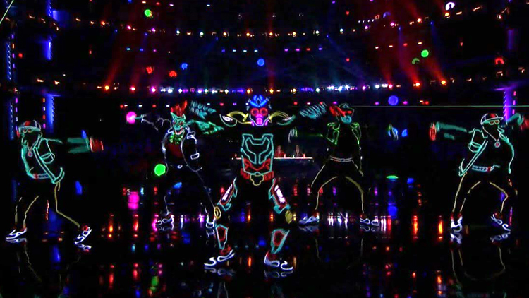 Light Balance Loses Control on the America's Got Talent Stage With a High Energy Dance