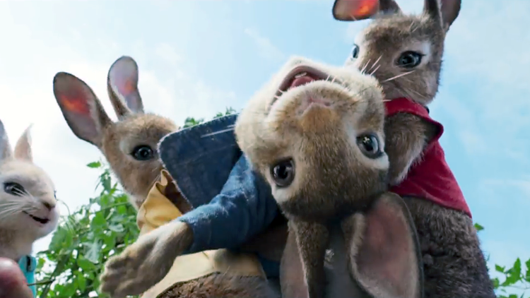 Peter Rabbit, A Live-Action Animated Adventure Comedy Film Based On the Stories by Beatrix Potter