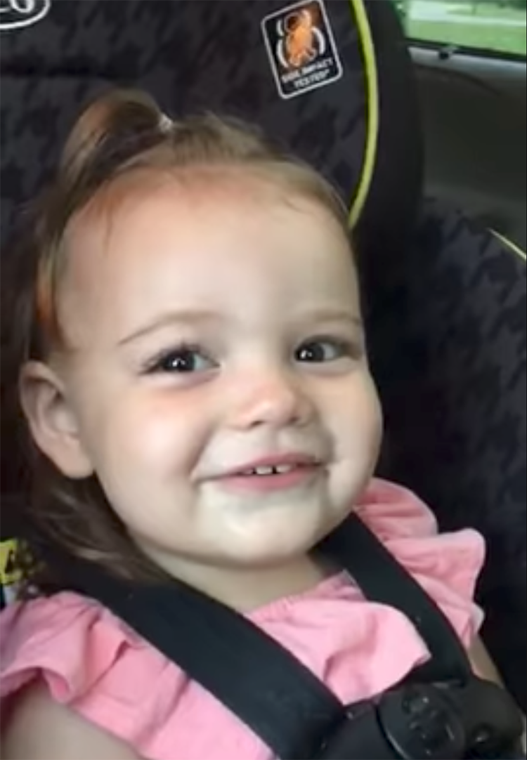 Adorable Little Girl Can't Say Ice Cream So She Makes Up a New Word For It