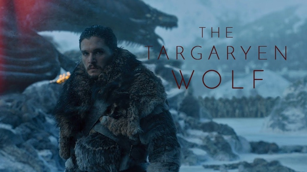 The Targaryen Wolf, A Tribute to Jon Snow's Journey on Game of Thrones