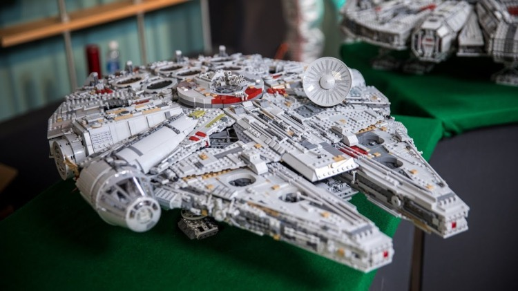 The Tested Team Builds and Reviews the 7,541 Piece Millennium Falcon LEGO Set
