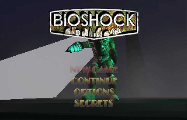What BioShock Would Look Like If It Were Made in 1998