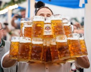 World Record Beer Carrying
