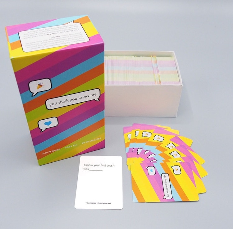You Think You Know Me Card Game