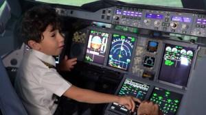 Kid Becomes Etihad Airways Pilot