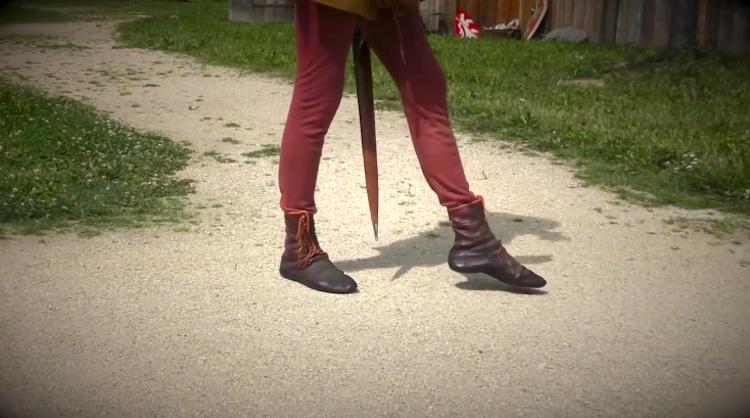 Walking Medieval Times