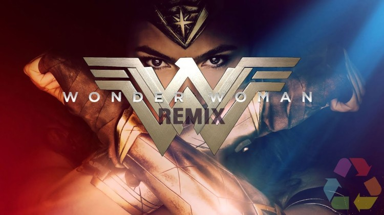 A Powerful Remix of the Wonder Woman Film by Eclectic Method