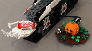 LEGO Chocolate Machine