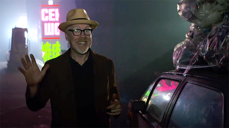 Adam Savage Goes Behind the Scenes of a Blade Runner Short Film Where He Appeared As an Extra