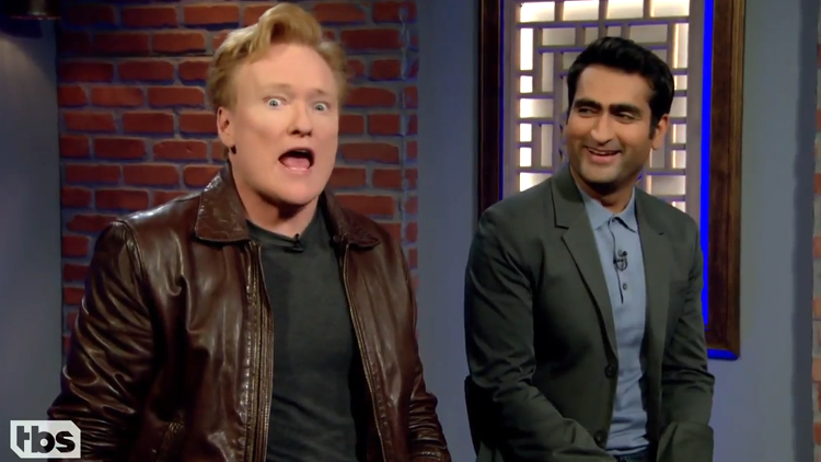 Conan O'Brien Plays 'Middle-earth Shadow of War' With Kumail Nanjiani on Clueless Gamer