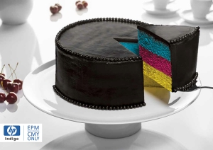 Delicious CMYK Cake Print Ad Showcases Why 'CMY Is the New Black'