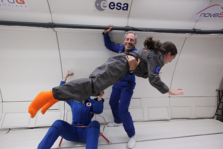 Disabled Kids and Adults Experience Floating Like Astronauts in Joyous Zero Gravity Flight