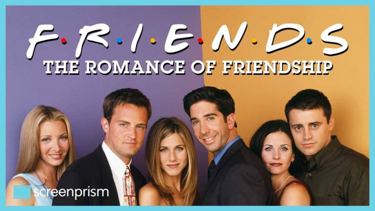 How the Familiar Behavior of Romance Became the Norm Within the Platonic Relationships of 'Friends'