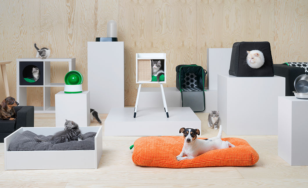 Ikea Announces Lurvig A Wonderful New Furniture Line Made Specifically For Dogs And Cats